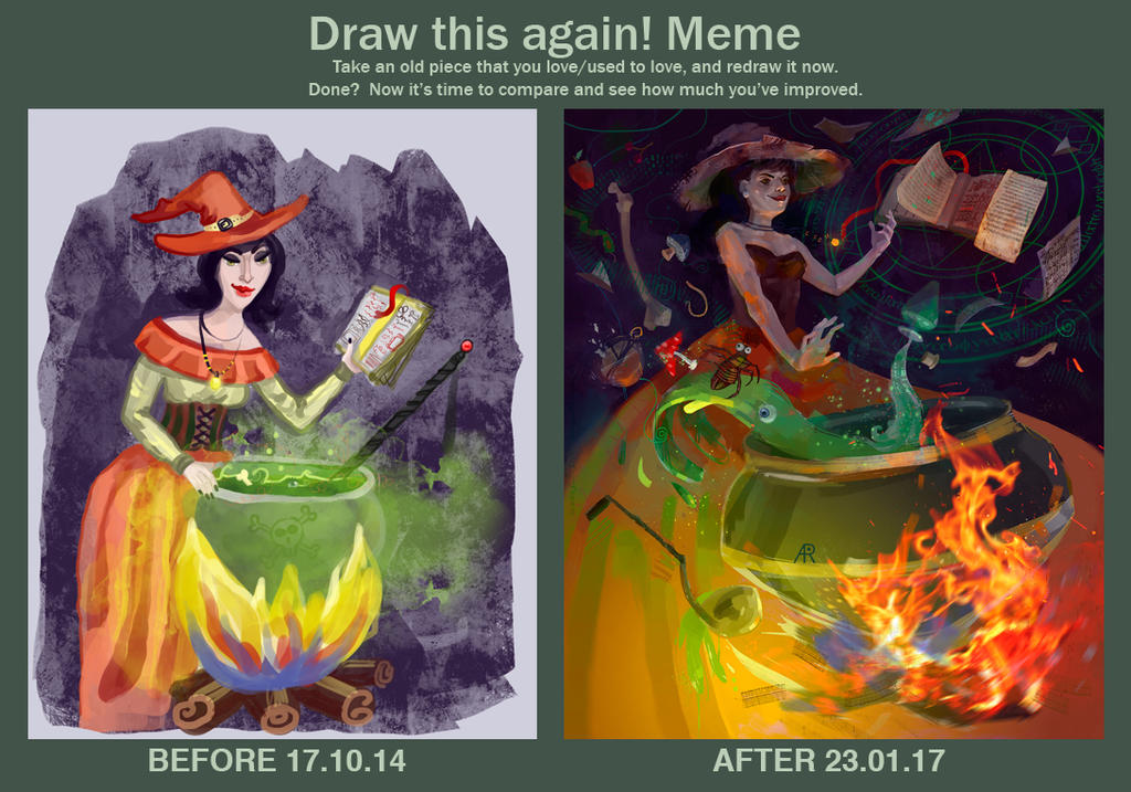 Meme Before And After by AyeriR