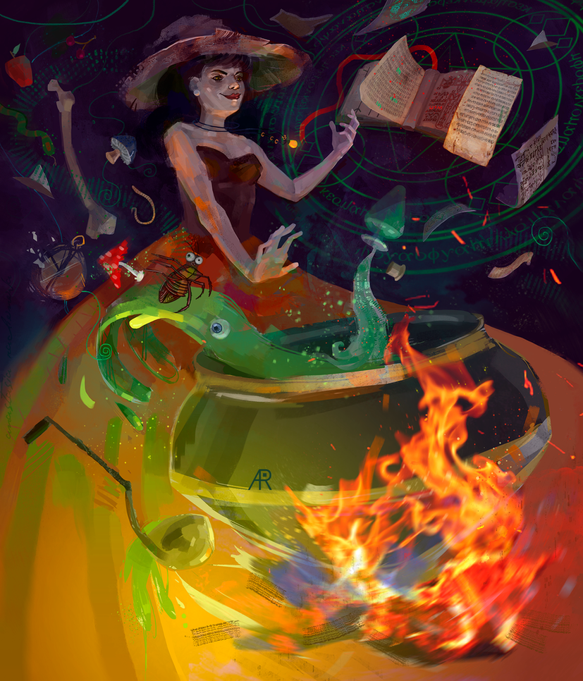 Witch by AyeriR