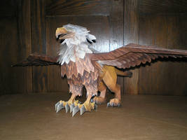 Warcraft Gryphon by ohiohd