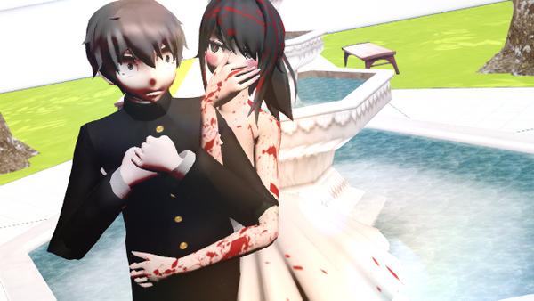 Ayano and Taro Valentiens day^^ by Mikusaki-sama
