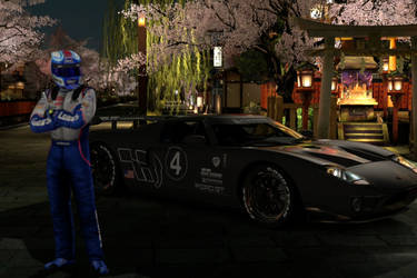 Gran Turismo 5- Ford GT LM Test Car- Kyoto - Gion by Killzonepro194