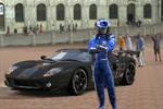 Gran Turismo 5- Ford GT in Siena- Piaza Del Campo by Killzonepro194