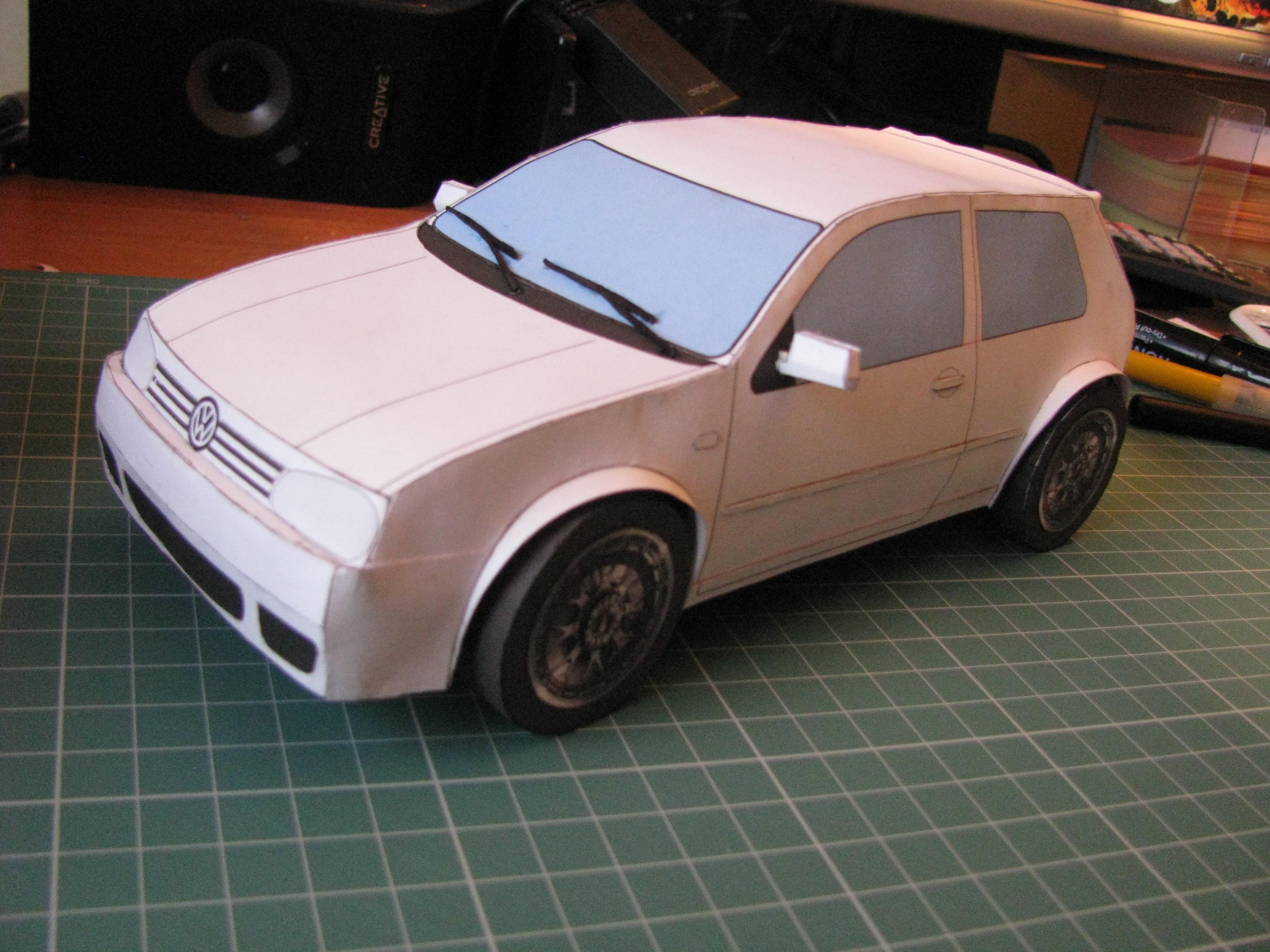 Volkswagen Golf Mk4 by kotlesiu
