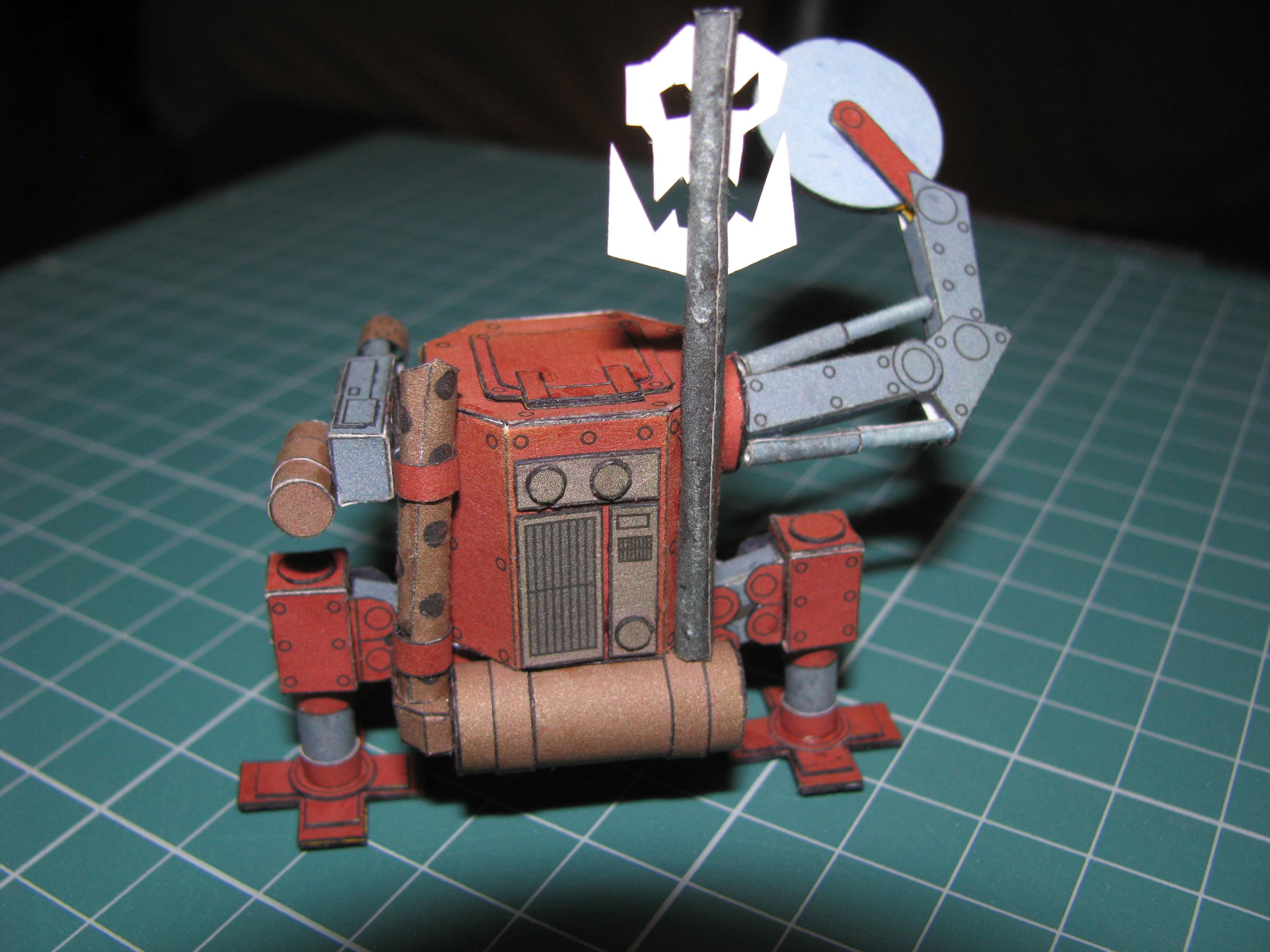 Ork Killa Kan - Warhammer 40k - Papercraft by kotlesiu