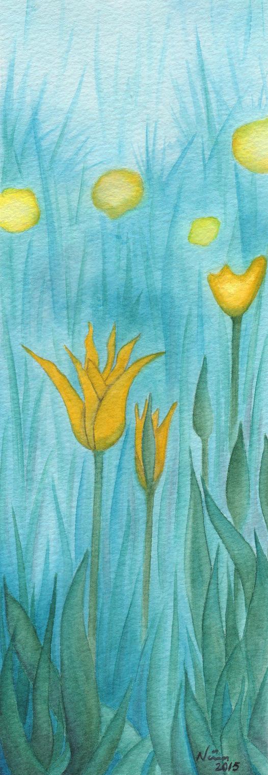 Yellow Tulips by Neatha