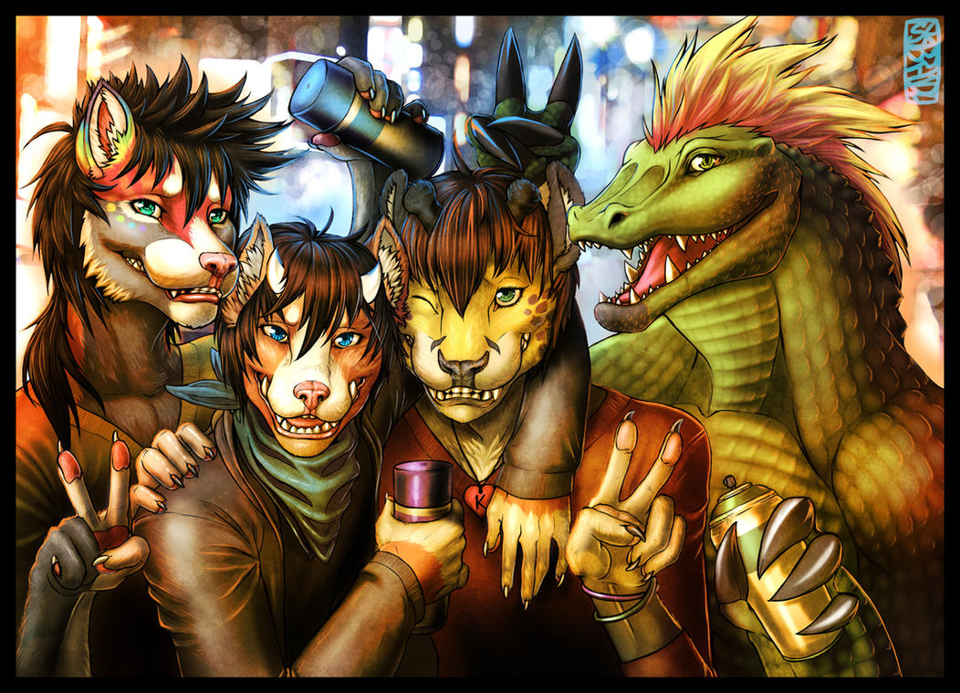 Band of Rogues -- Yasuno's Contest Entry by Guardian-Beast