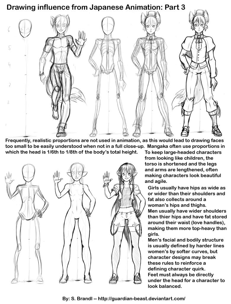 anime manie how to draw characters for japanese animation