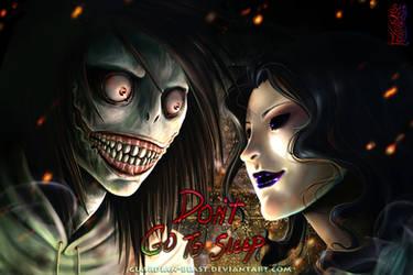 Creepypasta: Jeff the Killer vs Jane the Killer by Guardian-Beast