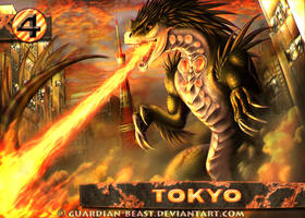 World's Greatest Monster - Tokyo City Card