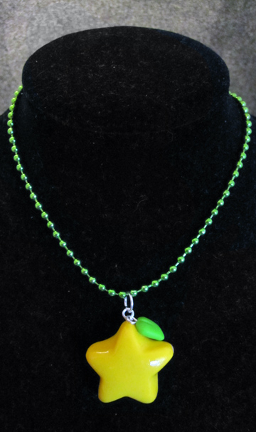 Paopu Fruit Necklace by egyptianruin