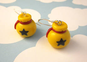 Bell Bag Earrings by egyptianruin