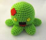 Zombie Octopus Amigurumi