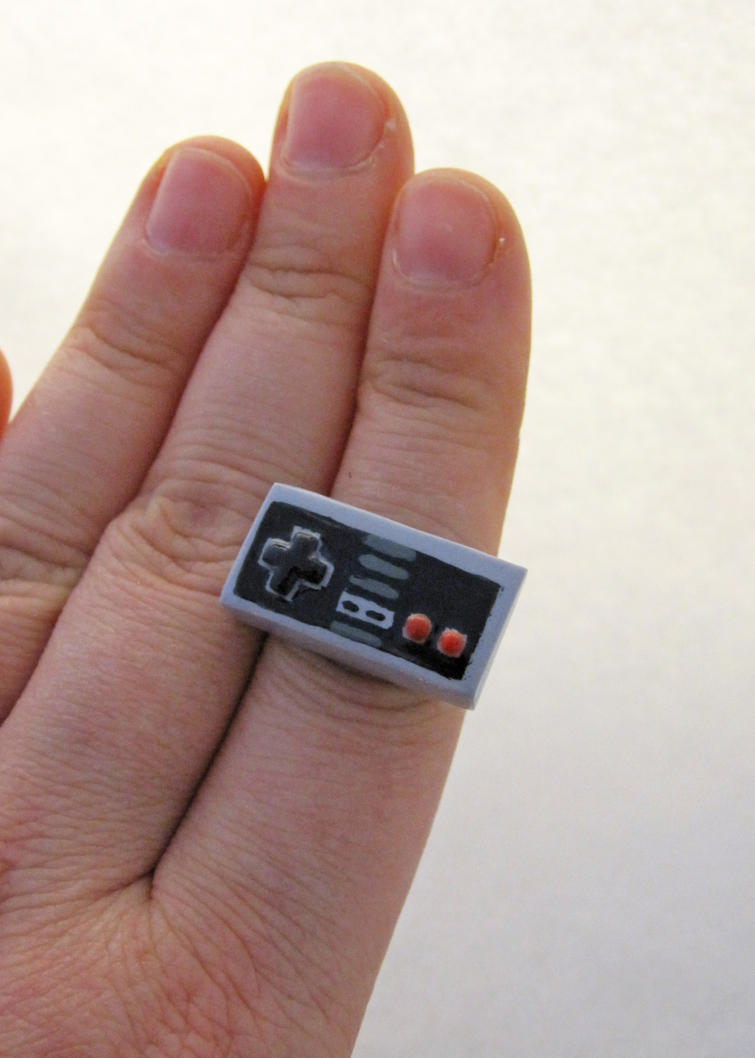 Nintendo Adjustable Ring by egyptianruin