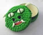 Green Dragon Dice Box