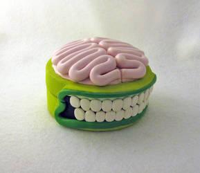 Zombie Brain Gift Box by egyptianruin