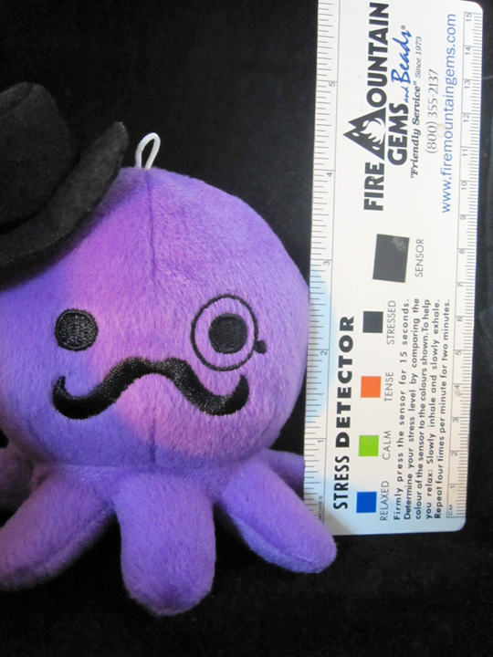 Octopus Plush Size by egyptianruin