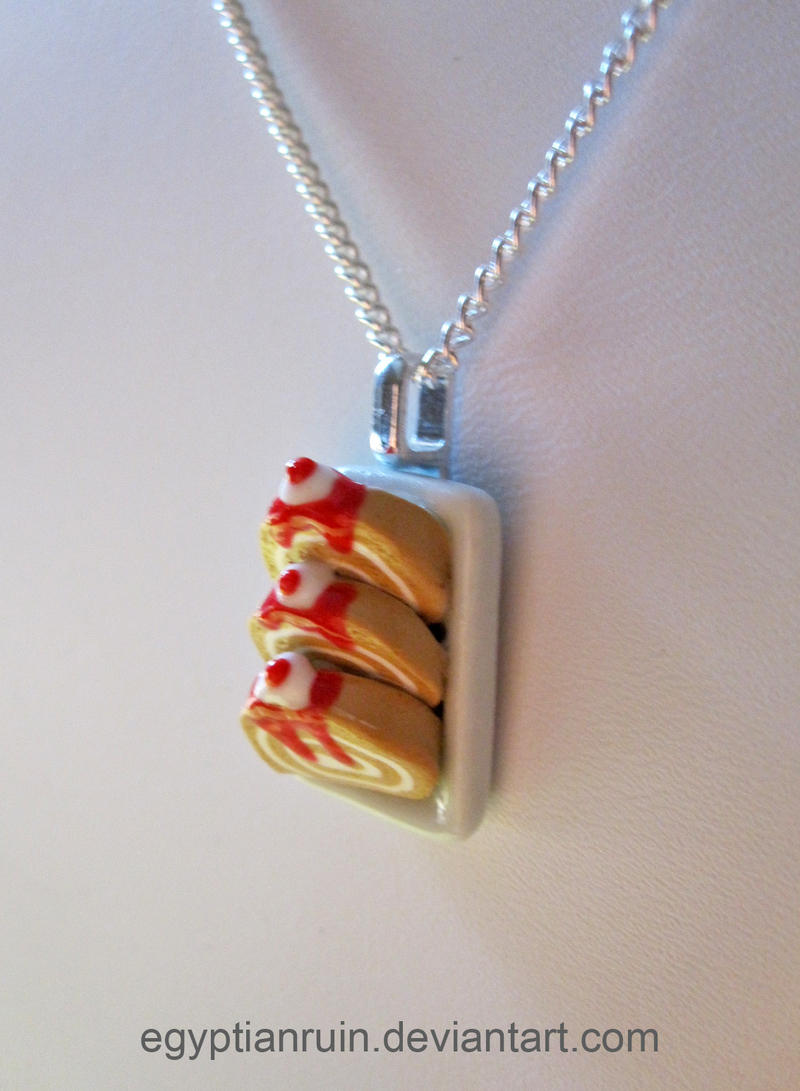 Strawberry shortcake necklace by egyptianruin on deviantart for Strawberry shortcake necklace jewelry