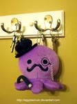 Deluxe Gentleman Octopus Plush