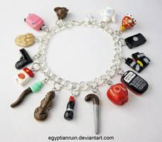 Sherlocked Charm Bracelet 1 by egyptianruin