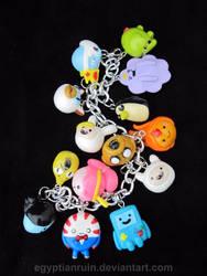 Adventure Time Bracelet 1 by egyptianruin