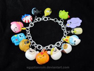 Adventure Time Bracelet 2 by egyptianruin