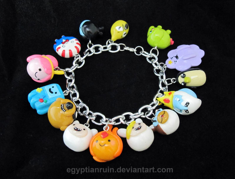 Adventure Time Bracelet 2 by egyptianruin