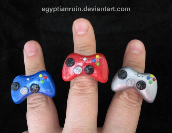 Special Edition XBOX 360 Rings by egyptianruin