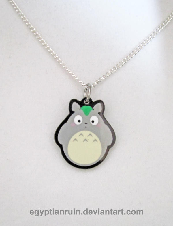 My Neighbor Totoro Necklace by egyptianruin