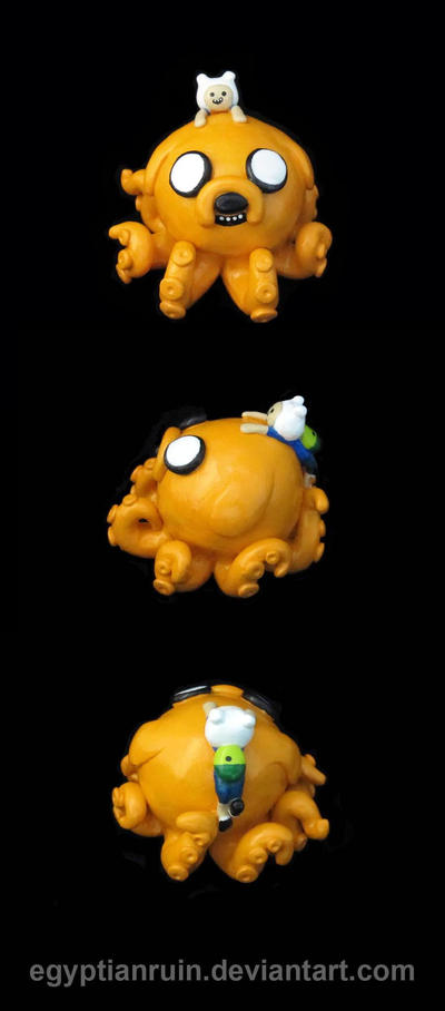 Adventure Time Octopus by egyptianruin