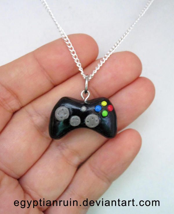 Xbox 360 controller necklace by egyptianruin on deviantart xbox 360 controller necklace by egyptianruin aloadofball Choice Image