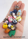 Animal Crossing New Leaf Charms