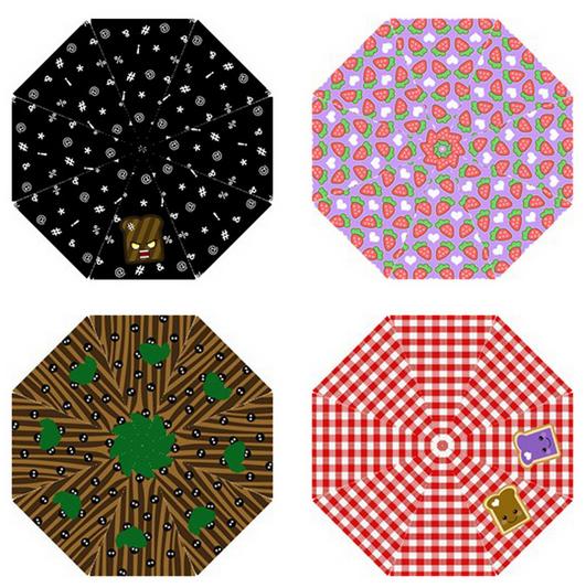 Fancy New Umbrella Designs by egyptianruin