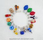Legend of Zelda Windwaker Charm Bracelet