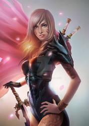 Female Warrior by ANG-angg