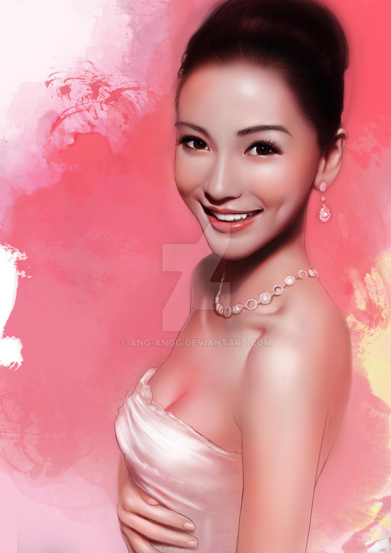 Angelababy by ANG-angg on DeviantArt