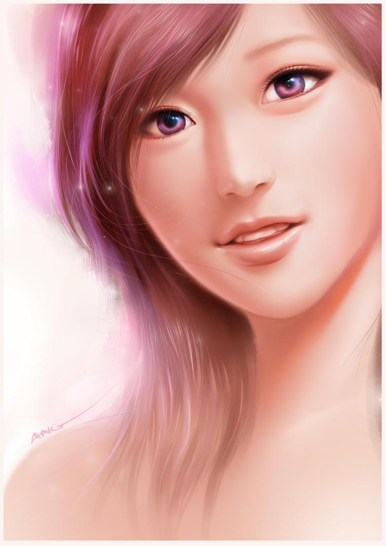 asian manga girl 2 by ang angg on deviantart