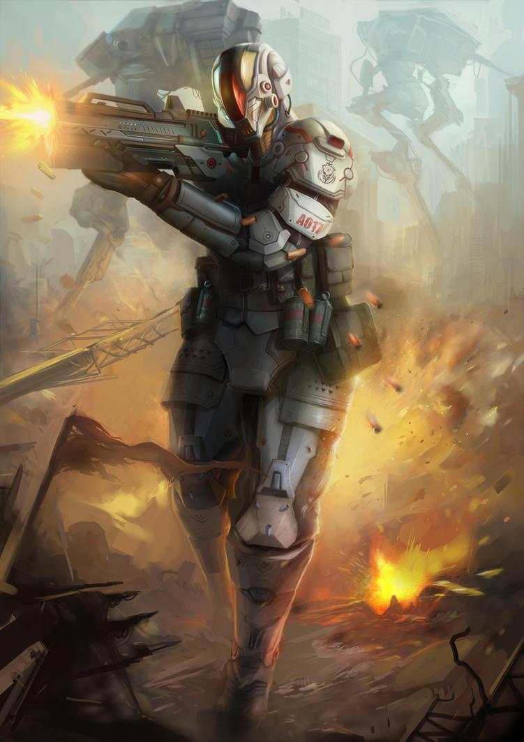 robot claz6 by ANG-angg