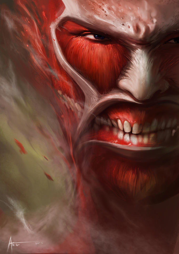 Attack on titan by ang angg on deviantart for Design attack