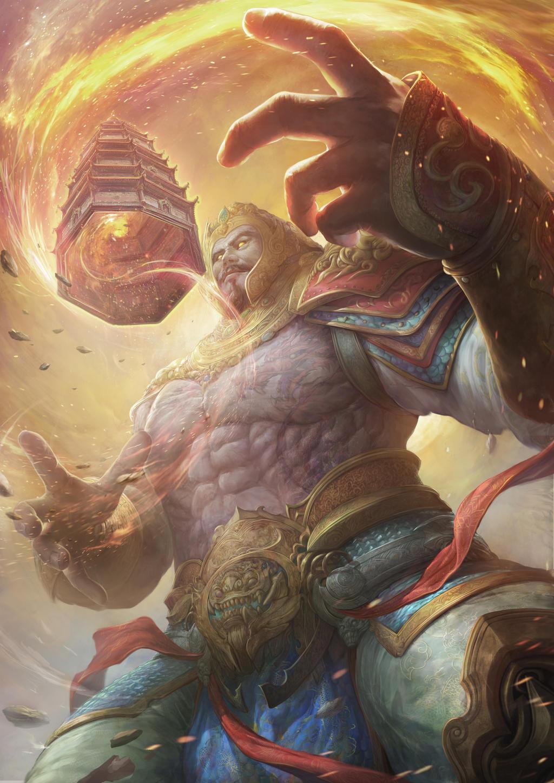 Chinese Mythology- Lee Jing by ANG-angg on DeviantArt