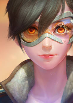 OVERWATCH-tracer portrait