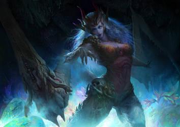 Myth Monster Series 03 - Mantis Queen