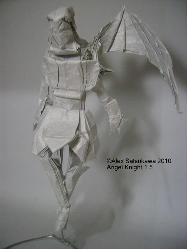 Origami Angel Knight 15 By Satsukawa On Deviantart