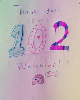 Thank you for 102 watchers!!! (+?)