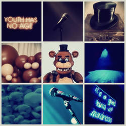 (Classic) Freddy aesthetic: Star of the Stage
