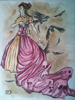 The lady's alive dress