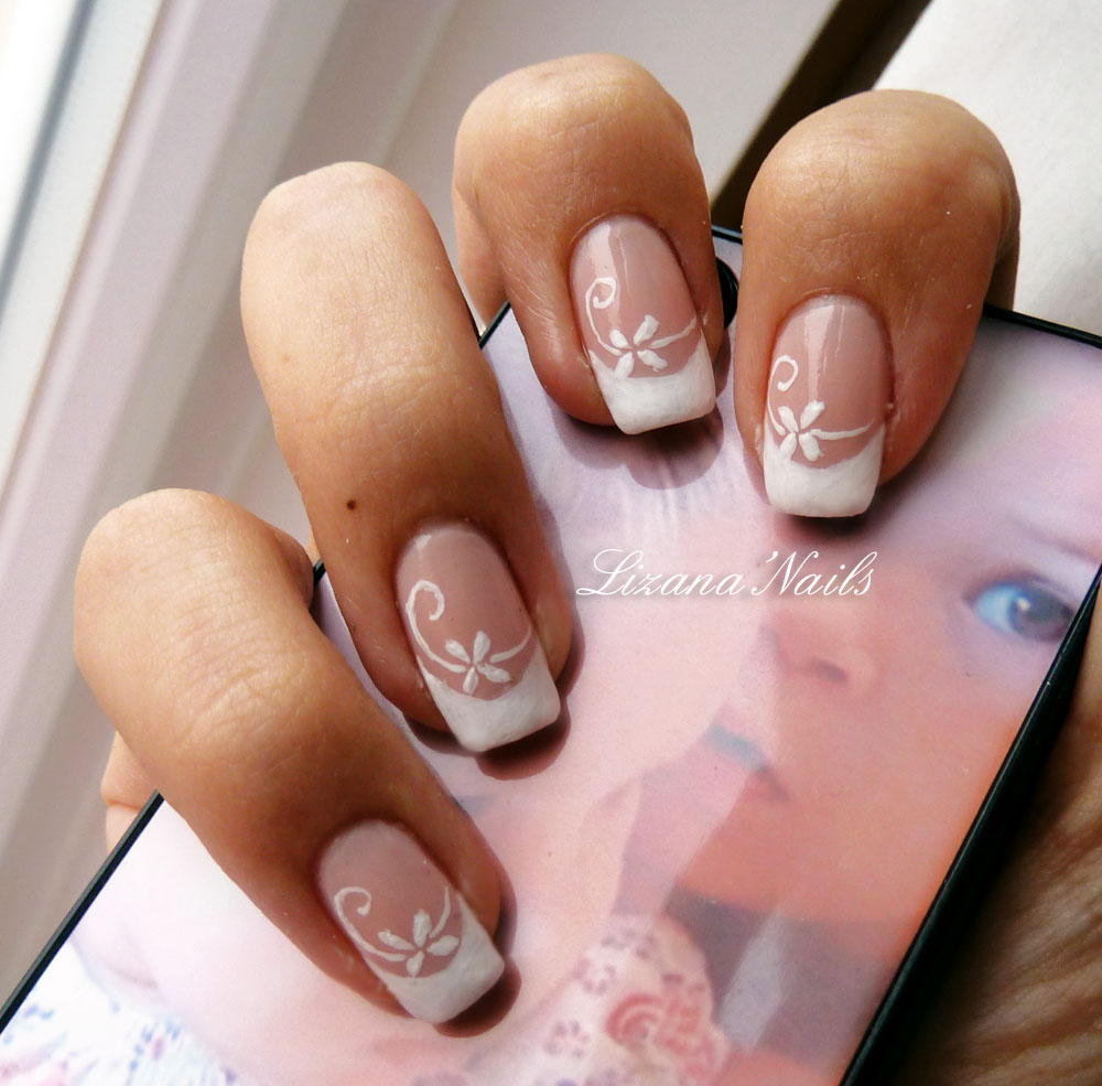 Nail Art French Opi Passion by Lizananails on DeviantArt