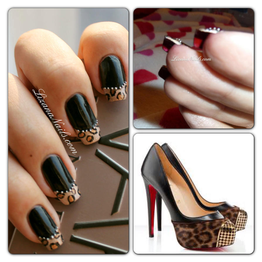 Nail Art Louboutin by Lizananails on DeviantArt