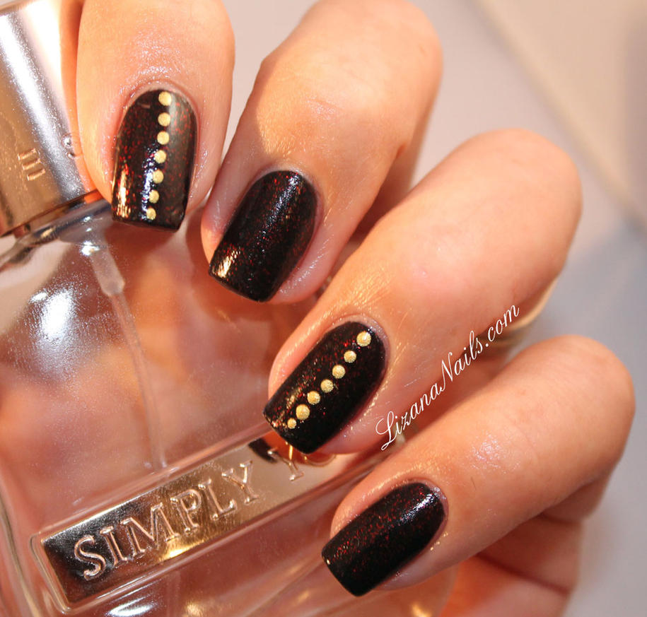 nail art ultra simple ongles courts by lizananails on deviantart. Black Bedroom Furniture Sets. Home Design Ideas