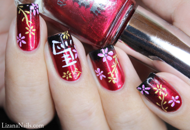 Nail art chinese new year 2014 by lizananails on deviantart nail art chinese new year 2014 by lizananails prinsesfo Choice Image