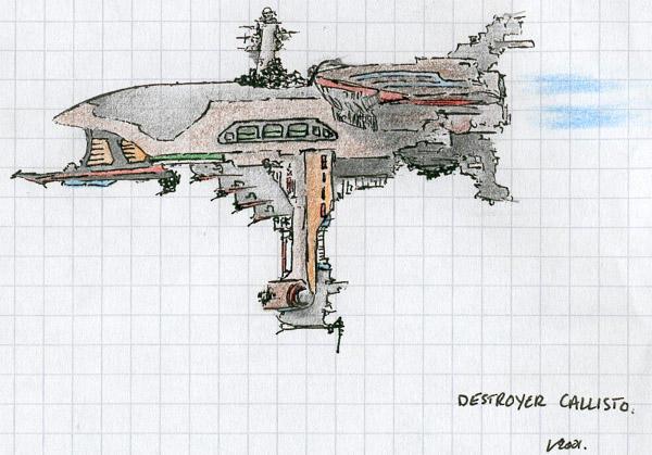 destroyer callisto by fractos